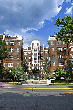 Brick Townhouse Royalty Free Stock Photos - Image: 10018628