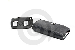 Access Det Keyless Systemet För Bilen Arkivbild - Bild: 10021972