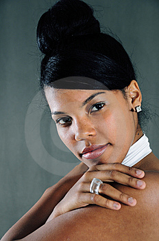 African Fashion Woman Royalty Free Stock Images - Image: 10021999