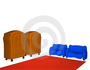 Cabinets And Sofas Royalty Free Stock Images - Image: 10024349