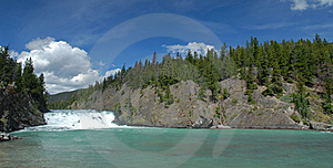 Rocky Mountain River Royalty Free Stock Photos - Image: 10025518