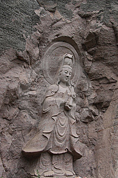 Stone Carving Royalty Free Stock Image - Image: 10026246