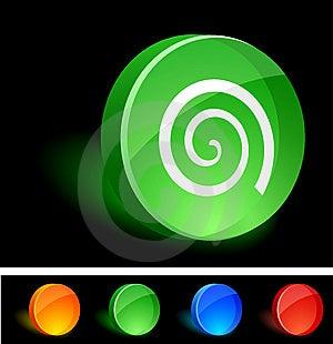 Swirl Icon. Stock Images - Image: 10026934