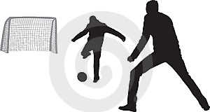 Soccer Players Royalty Free Stock Photos - Image: 10030138