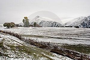 Snow View Of Tibetan Village At Shangri-la China Royalty Free Stock Image - Image: 10031136