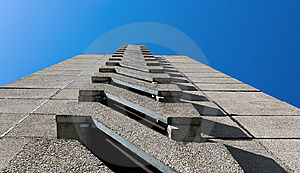 Building In Perspective Royalty Free Stock Photography - Image: 10036337