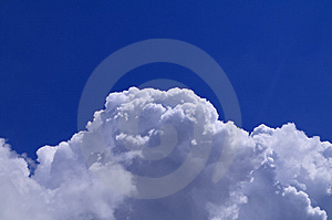 Thick Cumulus Clouds Stock Image - Image: 10038331