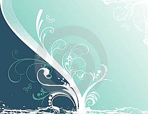 Vector Flower Illustration Stock Images - Image: 10039394