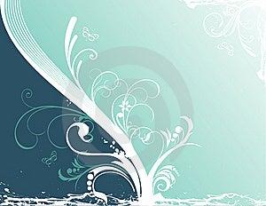 Vector Flower Illustration Stock Images - Image: 10039394