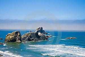 Rocky Beach, Ecola State Park Oregon, USA Royalty Free Stock Photography - Image: 10040347