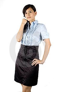 Elegant Office Lady Royalty Free Stock Photo - Image: 10040675