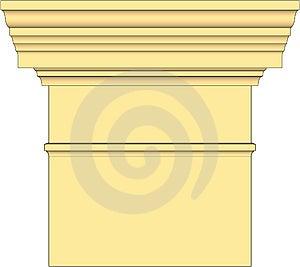 Vector Column Classic Stock Image - Image: 10041191