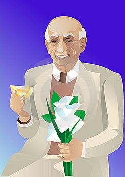 Elderly Man Royalty Free Stock Photography - Image: 10043797