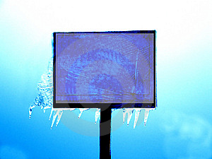 Frozen Plate Stock Photography - Image: 10043962