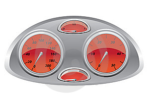 Measuring Device Of Speed Royalty Free Stock Photography - Image: 10044987