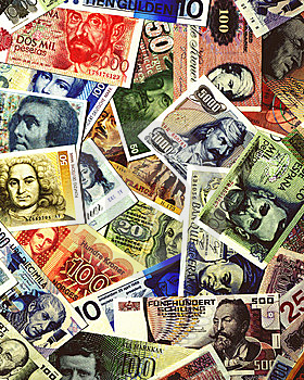 Global Currency Royalty Free Stock Photo - Image: 10050775
