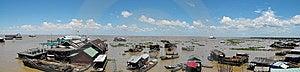 Floating Village Stock Photography - Image: 10052592