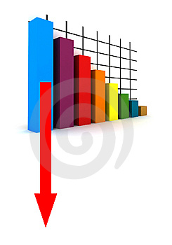 Crisis In The Money Market/business Market Stock Image - Image: 10052721