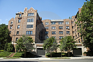 Brick Townhouse Stock Photo - Image: 10052970