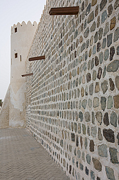 Kalba Fort In Sharsjah UAE Stock Photo - Image: 10053260