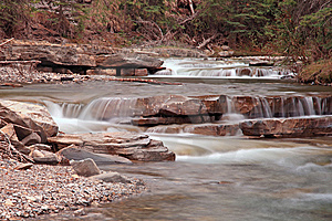 Mountain Cascade Royalty Free Stock Photo - Image: 10053555