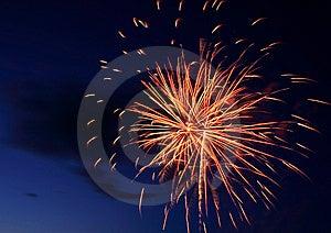 Fireworks Burst Stock Photo - Image: 10053560