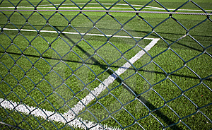 SOCCER BALLS IN GOAL Royalty Free Stock Images - Image: 10055529