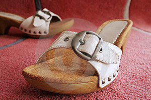 Girls Shoes Royalty Free Stock Photography - Image: 10058377