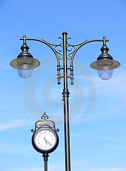Old Lamppost Royalty Free Stock Photo - Image: 10060365