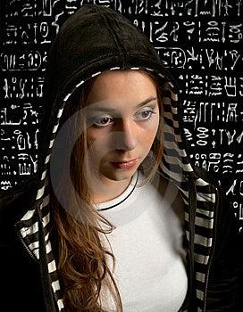 New Age Nefertiti Stock Photography - Image: 10060952