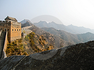 The Great Wall Stock Image - Image: 10061191