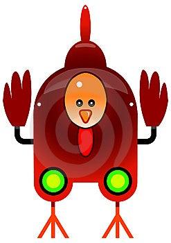 Chicken Bot Royalty Free Stock Photo - Image: 10062995