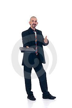 Alternative Businessman Royalty Free Stock Images - Image: 10066009