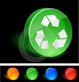 Recycle Icon. Stock Photo - Image: 10067740