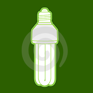 Low Energy Consumption Light Bulb Stock Images - Image: 10069154