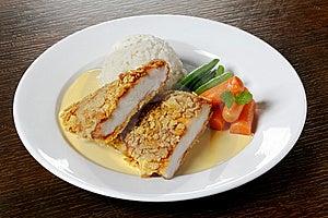 Chicken Dish Stock Photo - Image: 10069340