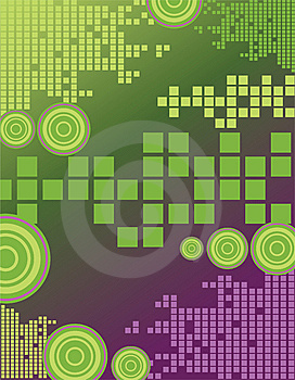 Green Rectangles Royalty Free Stock Photography - Image: 10069617