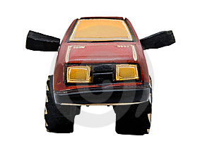 Wooden Toy SUV Royalty Free Stock Photo - Image: 10070195
