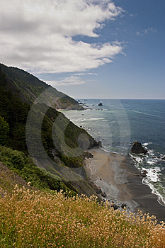 California Coast Stock Image - Image: 10074491