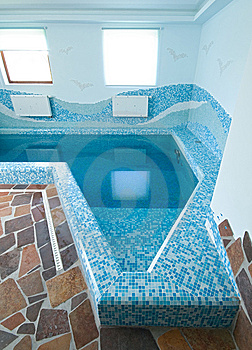 Interior Of A Swimming Pool Stock Image - Image: 10074941