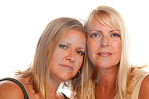 Two Beautiful Sisters Portrait Royalty Free Stock Image - Image: 10075586