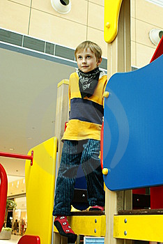 In A Playground Royalty Free Stock Photo - Image: 10078325