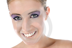 Young Woman Smiling Stock Images - Image: 10082324