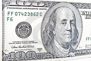 Dollars Banknote Stock Photos - Image: 10083743