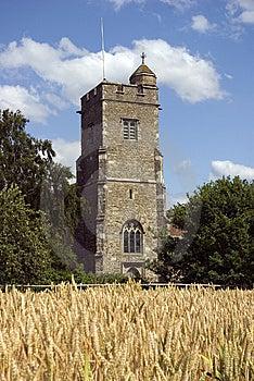 Parish Church Of St Martin Ryarsh Stock Image - Image: 10088071