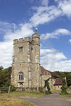 Parish Church Of St Martin Ryarsh Royalty Free Stock Images - Image: 10088079