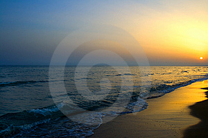 Sunset Royalty Free Stock Photos - Image: 10088688