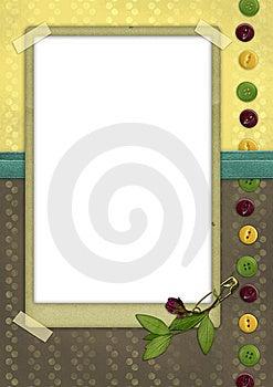 Vintage Card 04 Stock Image - Image: 10089791