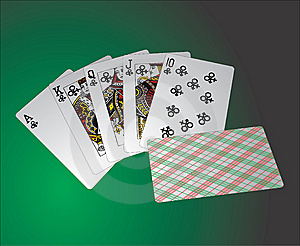 Playing Cards Royalty Free Stock Photos - Image: 10091518