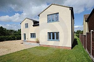 New Build Property Development Royalty Free Stock Image - Image: 10092656